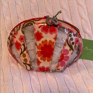 Vera Bradley Small Seashell Cosmetic Folkloric